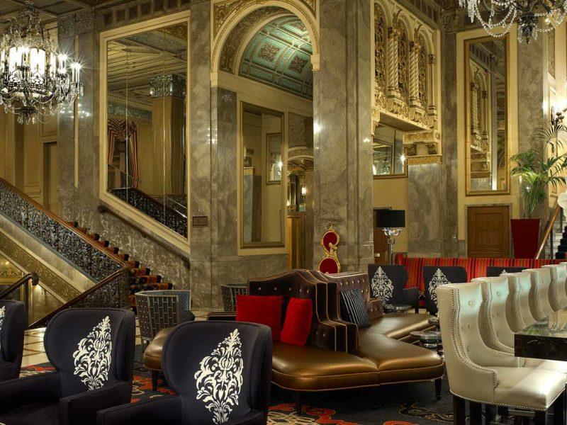 Sir Francis Drake Hotel in San Francisco